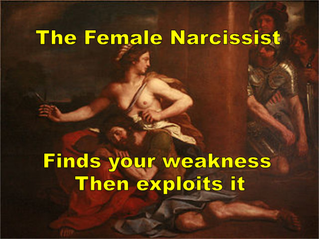 The Female Narcissist - leads men to their demise